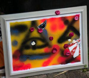 Romy, Veerle en Fleur: kunstworkshop bij de Brouwerij